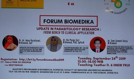 Forum Biomedika Parasitology Concentration