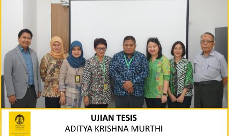 Thesis Examination Aditya Krishna Murthi (Physiology)