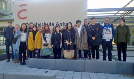 Visiting Lecture to Hochschule Anhalt University (Germany)