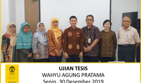 Thesis Examination Wahyu Agung Pratama (Microbiology)
