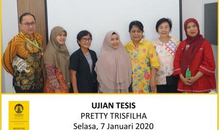 Thesis Examination Pretty Trisfilha (Oncology)