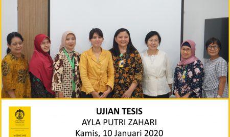 Thesis Examination Ayla Putri Zahari (Patobiology)